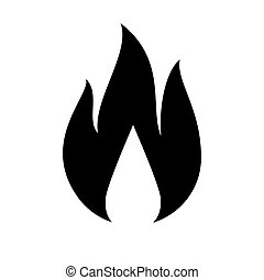 Blanc Lumineux Flamme Brûler Fond 10eps Brûler