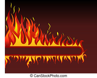 brûler, fond