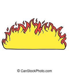 brûler, frontière