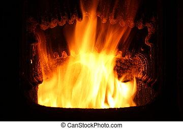 brûler, furnace.