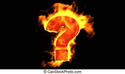 brûler, mark., question