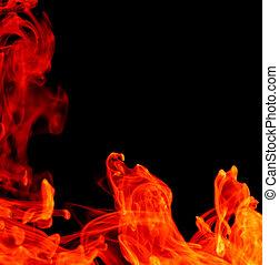 brûler, résumé, fond