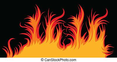brûler, vecteur
