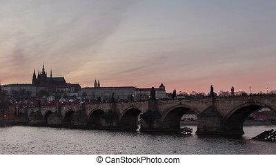 Brücke, FEHLER,  charles, Perspektive, Zeit, Schießen,  day-to-night