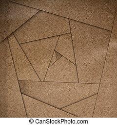 brązowy, abstrakcyjny, papier, tło