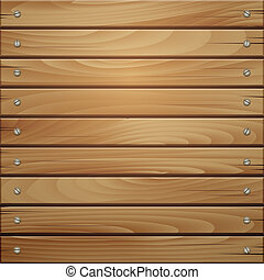 brązowy, drewno, deska, tło, struktura