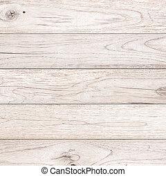 brązowy, struktura, drewno, tło, biały, deska