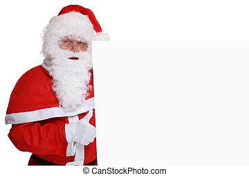 bra, copyspace, claus, uppe, tummar, jultomten, toppen, jul