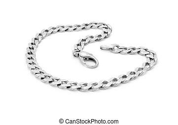 braccialetto, argento