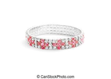 braccialetto, diamanti