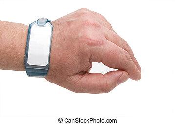 braccialetto ospedale, id