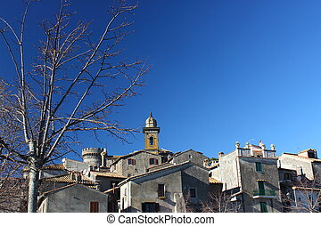 Bracciano White and Blue