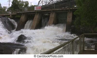 Bracebridge Falls.