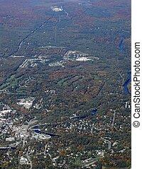Bracebridge Ontario, aerial