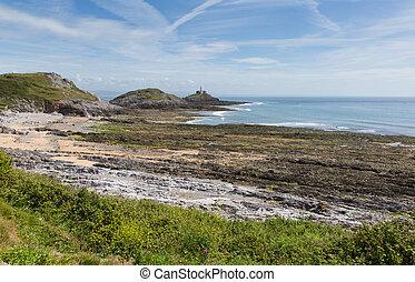 Bracelet Bay the Gower Peninsula uk