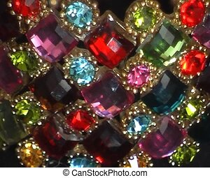 bracelet with sparkling stones