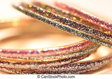 Bracelets from India - Sparkling bracelets from India,...
