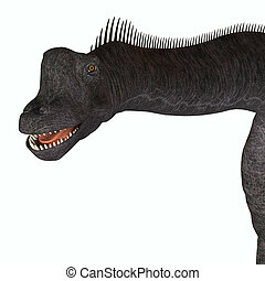 Brachiosaurus Animal Head
