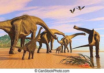 Brachiosaurus Beach