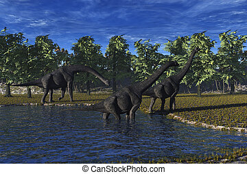Brachiosaurus Dinosaur\\\'s