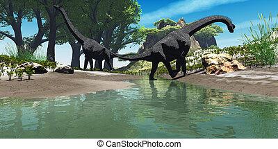 brachiosaurus, dinossauro