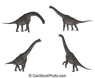 brachiosaurus, satz
