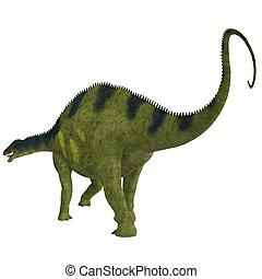 Brachytrachelopan Dinosaur Tail