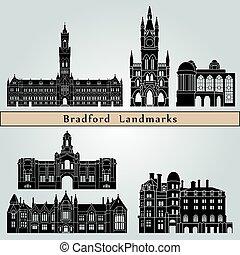 bradford, repères, monuments