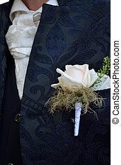 Braeutigam - Ansteckblume - Groom - Corsage