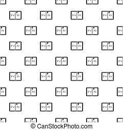 Braille pattern, simple style