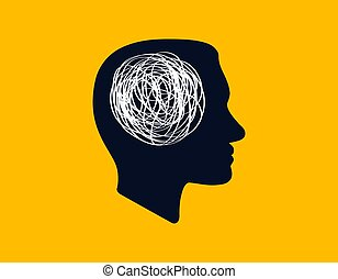 brain., γραμμή , εσωτερικός , αόρ. του think , χαώδης , ατομικότητα ακαστασία , σύγχυση , αθυμία , γενική ιδέα , εκδήλωση , ανθρώπινος , περίγραμμα , εικόνα , ανακάτεμα , διαδικασία , κεφάλι , αρέσω