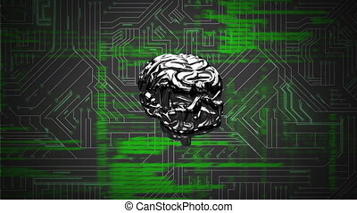 Brain and a digital circuit with program codes