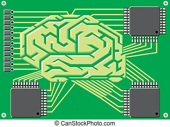 brain as motherboard