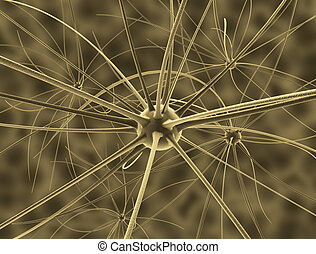 Brain Cells Illustration