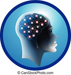Brain connections logo
