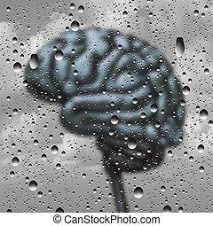Brain Disease Concept