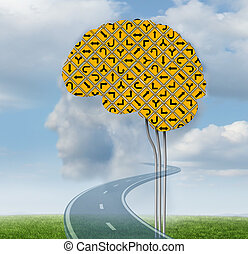 Brain Functioning - Brain functioning with a group of...