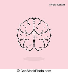 brain icon .vector illustration