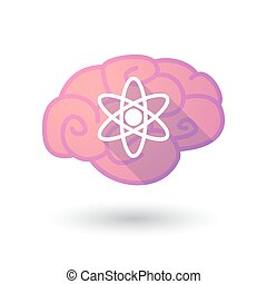 Brain icon with a