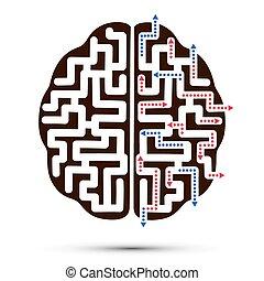 brain., ikon