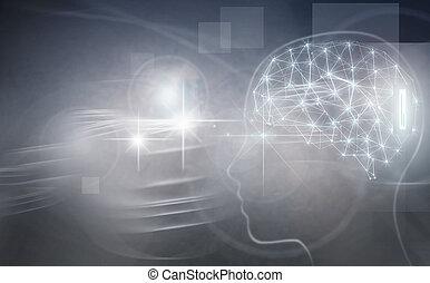 Brain implant, artificial intelligence