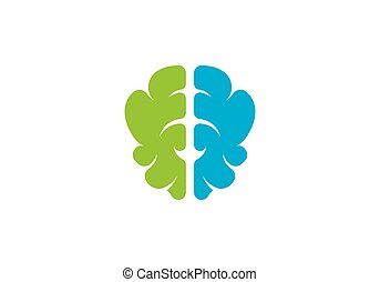 Brain Logo vector