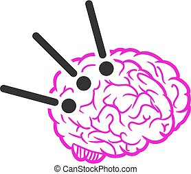 Brain Operation Vector Icon