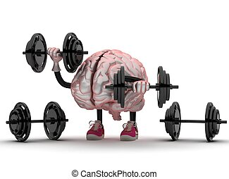 brain sports doing exercises