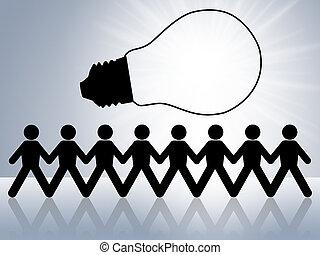 brain storm - brainstorm teamwork to create new idea or...