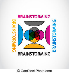 brain-storming, groupe