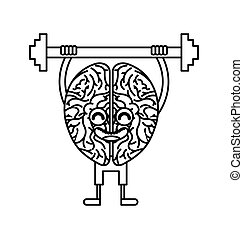 brain strong character weight lifting