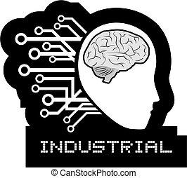 Brain tech - Creative desing of brain tech
