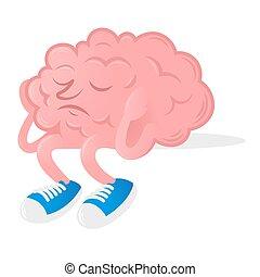 Brain without idea