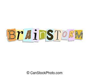 Brainstorm Paper Letters